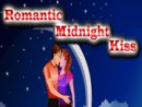 Romantic Midnight Kiss