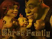 Shrek Family Puzzle Mania