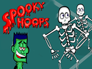 Skeleton Spooky Hoops