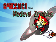 Spacemen vs Medieval Zombies