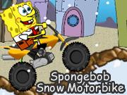 Spongebob Snow Motorbike