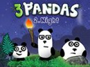 Three Pandas 2 - Night
