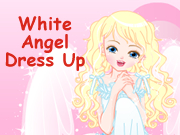 White Angel Dress Up