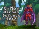 X-Men Heroes Defence Info