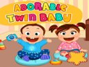 Adorable Twin Baby