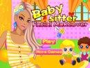 Babysitter Facial Makeover