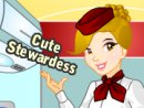 Cute Stewardess