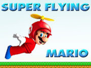 Flying Super Mario
