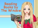 Reading Books by the Window