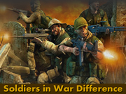Soldiers in War Difference