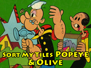 Sort My Tiles Popeye and Olive