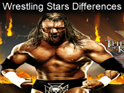 Wrestling Stars Differences