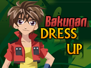 Bakugan Dress Up Game