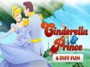 Cinderella & Prince 6 Diff Fun Game