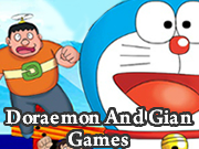 Doraemon And Gian Games