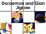 Doraemon and Gian Jigsaw