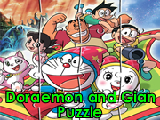 Doraemon and Gian Puzzle