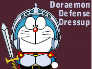 Doraemon Defense Dressup