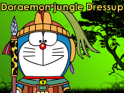 Doraemon jungle Dressup