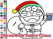 Doraemon Santa Claus
