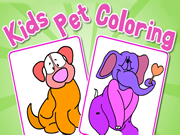 Kids Pet Coloring