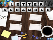 Letter Scramble Game