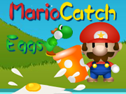 Mario Egg Catch Game