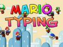 Mario Typing