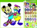 Mickey & Donald Coloring Book