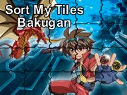 Sort My Tiles Bakugan Game