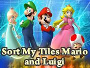 Sort My Tiles Mario and Luigi