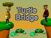 Turtle Bridge Game