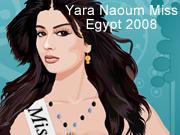 Yara Naoum Miss Egypt 2008