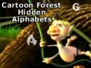 Cartoon Forest Hidden Alphabets