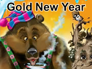 Gold New Year