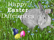 Happy Easter Differences