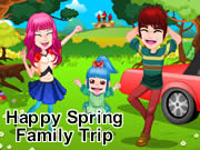 Happy Spring Family Trip