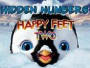 Hidden Numbers-Happy Feet 2 Game