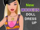 New Modern Doll Dress Up