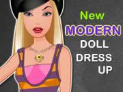 New Modern Doll Dress Up