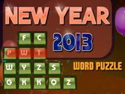 New Year 2013 Word Puzzle