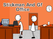 Stickman And Gf Office