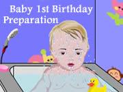 Baby 1st Birthday Preparation
