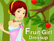 Fruit Girl Dressup