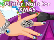 Glitter Nails for XMAS