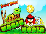 Angry Birds Naughty Pig Magic World