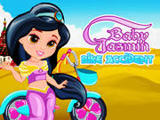 Baby Jasmin Bike Accident