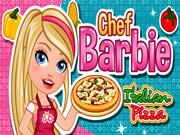 Online Barbie Fashion Games Chef Barbie Italian Pizza