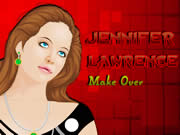 Jennifer Lawrence Makeover