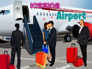 Kissing At The Airport
